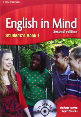 Фото - English in Mind  2nd Edition 1 Student's Book with DVD-ROM