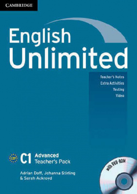 Фото - English Unlimited Advanced Teacher's Pack ( with DVD-ROM)