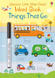 Фото - Little Wipe-Clean Word Book: Things That Go