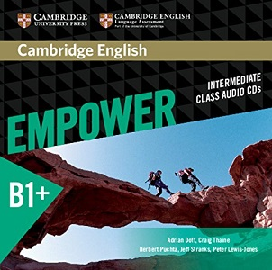 Фото - Cambridge English Empower B1+Intermediate Class Audio CDs (3)