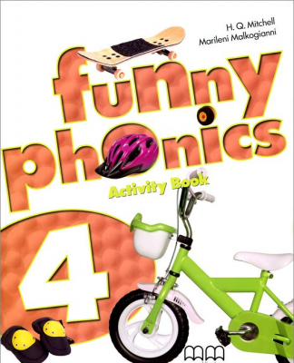 Фото - Funny Phonics 4 WB with Audio CD/CD-ROM
