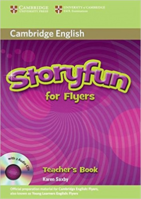 Фото - Storyfun for Flyers Teacher's Book with Audio CDs (2)