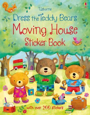 Фото - Dress the Teddy Bears Moving House Sticker Book