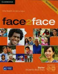 Фото - Face2face 2nd Edition Starter Student's Book with DVD-ROM and Online Workbook Pack