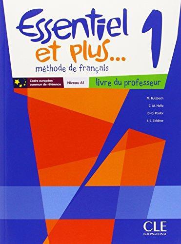 Essentiel Et Plus 1 Livre Du Professeur Cd Rom Professeur