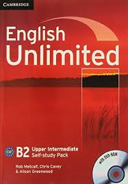 Фото - English Unlimited Upper-Intermediate Self-study Pack (Workbook with DVD-ROM)