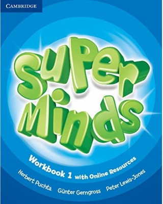Фото - Super Minds 1 Workbook with Online Resources