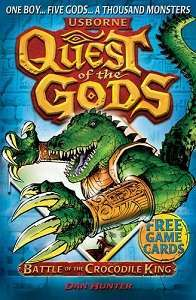 Фото - Quest of the Gods Book3: Battle of the Crocodile King