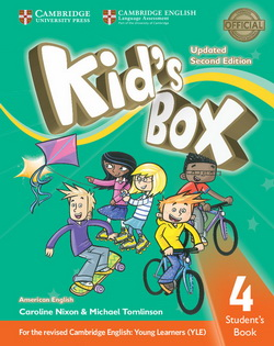 Фото - Kid's Box Second edition 4 Pupil's Book American English