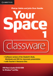 Фото - Your Space Level 1 Classware DVD-ROM with Teacher's Resource Disc