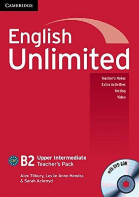 Фото - English Unlimited Upper-Intermediate Teacher's Pack (with DVD-ROM)