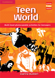Фото - Teen World Book (Multi-level photocopiable activities for teenagers)
