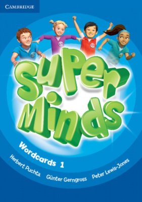 Фото - Super Minds 1 Wordcards (Pack of 90)