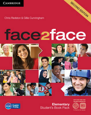 Фото - Face2face 2nd Edition Elementary Student's Book with DVD-ROM and Online Workbook Pack