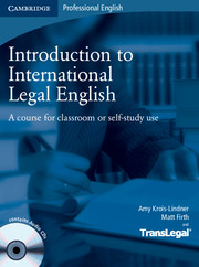 Фото - Introduction to International Legal English SB with Audio CDs (2)