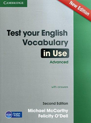 Фото - Test  Your English Vocabulary in Use 2nd Edition Advanced Book with answers