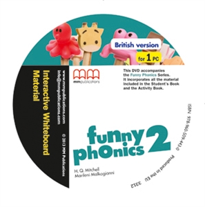 Фото - Funny Phonics 2 Interactive Whiteboard Material