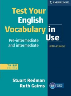 Фото - Test  Your English Vocabulary in Use 3rd Edition Pre-intermediate Book with answers