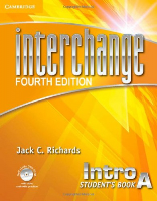 Фото - Interchange 4th ed Intro Student's Book A with Self-study DVD-ROM