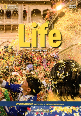 Фото - Life  2nd Edition Elementary WB with Key and Audio CD