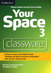 Фото - Your Space Level 3 Classware DVD-ROM with Teacher's Resource Disc