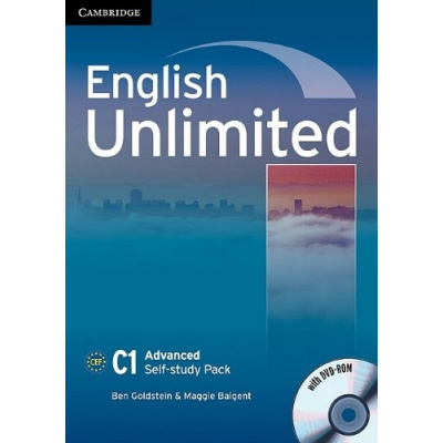 Фото - English Unlimited Advanced Self-study Pack (Workbook with DVD-ROM)