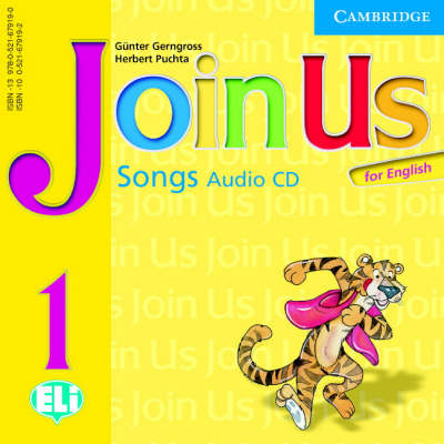 Фото - Join us English 1 Songs Audio CD(1)