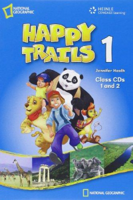 Фото - Happy Trails 1 Class Audio CD's (2)