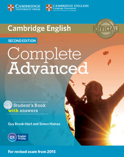 Фото - Complete Advanced Second edition
