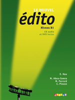 Фото - Edito B1 Livre eleve + DVD + CD audio