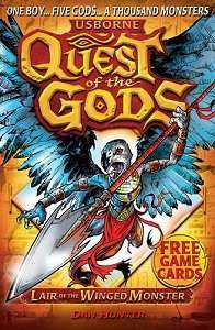 Фото - Quest of the Gods Book4: Lair of the Winged Monster