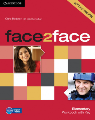Фото - Face2face 2nd Edition Elementary Workbook with Key