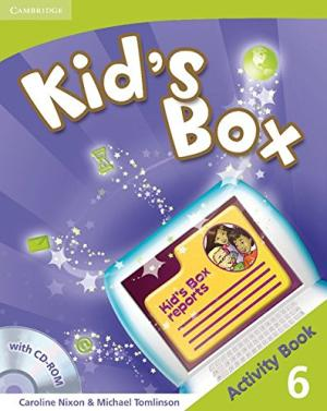 Фото - Kid's Box 6 Activity Book with CD-ROM