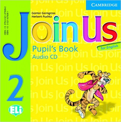 Фото - Join us English 2 PB Audio CD(1)