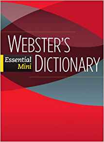 Фото - Webster's Essential Mini Dictionary
