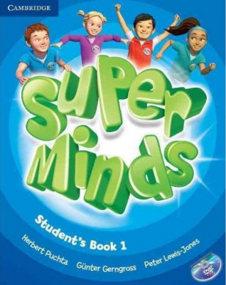 Фото - Super Minds 1 Student's Book with DVD-ROM