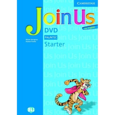 Фото - Join us English Starter DVD & activity book