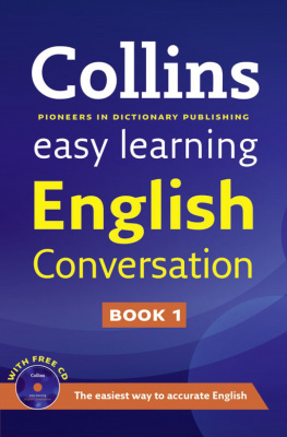 Фото - Collins Easy Learning English Conversation Book 1