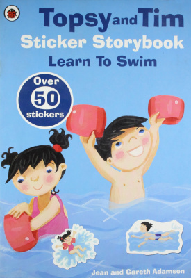 Фото - Topsy and Tim Sticker Storybook: Learn to Swim [Paperback]