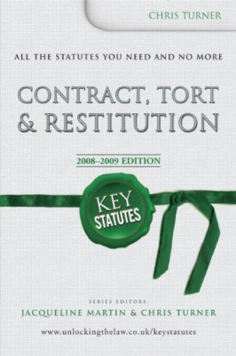 Фото - Key Statutes: Contract, Tort & Restitution