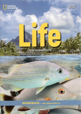 Фото - Life  2nd Edition Upper-Intermediate WB without Key and Audio CD